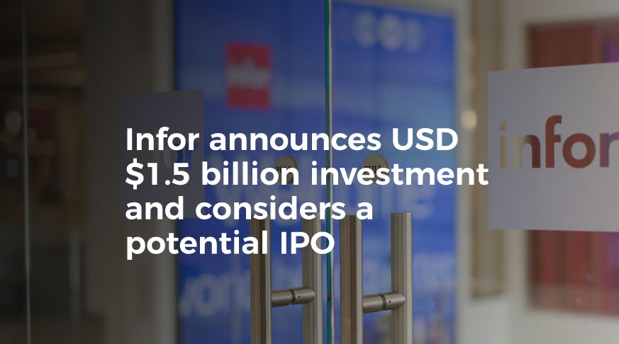 Infor will Invest more than US $2 Billion in Latin America