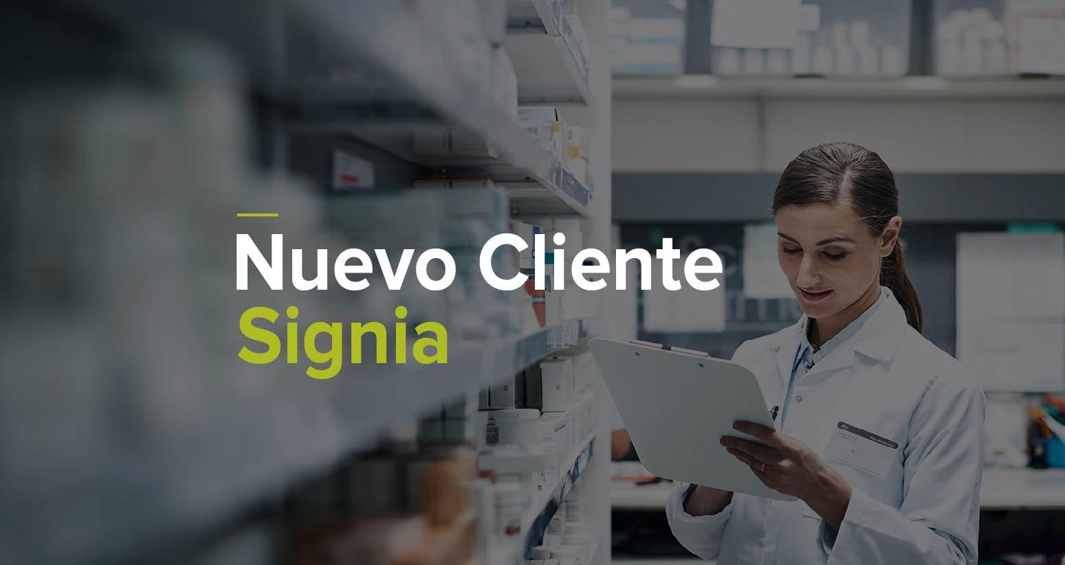 Nuevo Cliente Infor SCE - Signia