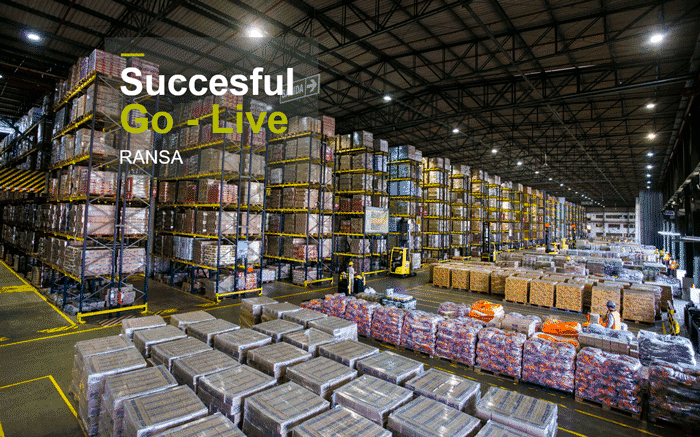 Ransa, a third-party logistics leader in Latin America, Successfully Launches Its First Operation with Infor's Cloudsuite ™ WMS