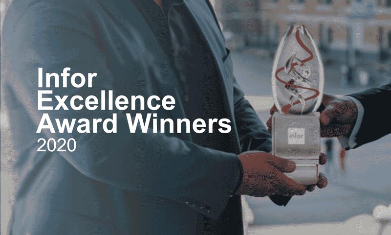 Infor Execellence Award 2020